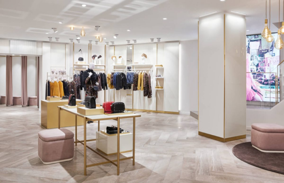 Contemporary elegance in the flagship store Motivi